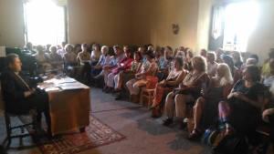 conferenza villa di vico Franco Tassi
